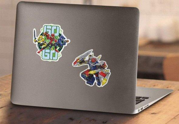 Power Rangers Beast Morphers Stickers Released
