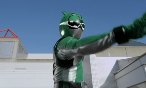 Betty To Become Green Beast Morphers Ranger?