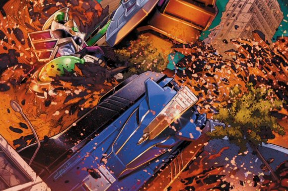 Mighty Morphin Power Rangers Issue #44 Details