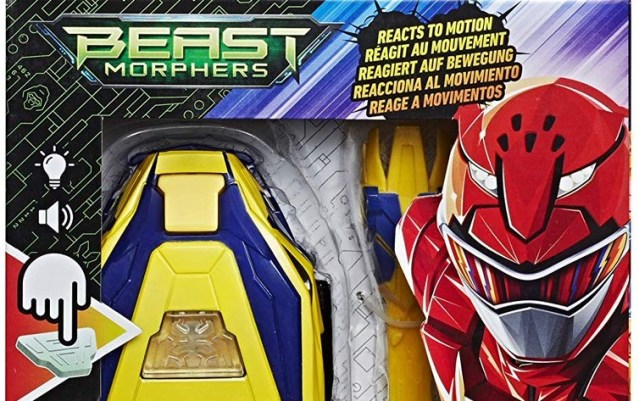 First Power Rangers Beast Morphers Season 2 Toys Revealed
