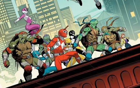 Mighty Morphin Power Rangers Teenage Mutant Ninja Turtles Issue 4 Details Power Rangers Now