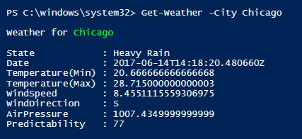 Get-Weather