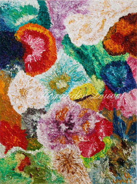 "Painting ""ALIDA"" Oil 80X60"
