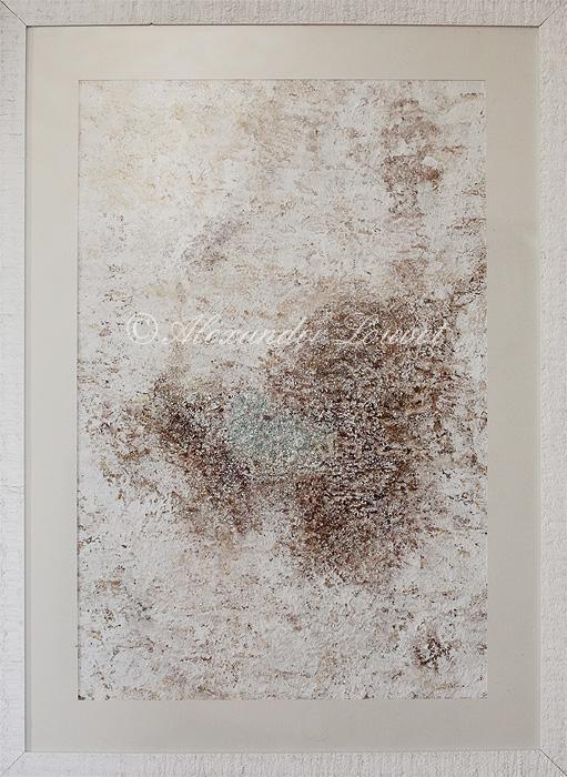 "Painting ""ISLAND OF DREAMS"" Latex 50X70"
