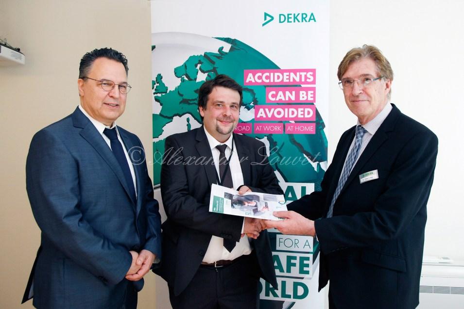 DEKRA - Vorstellung des 10. DEKRA Arbeitsmarktreports in Brüssel