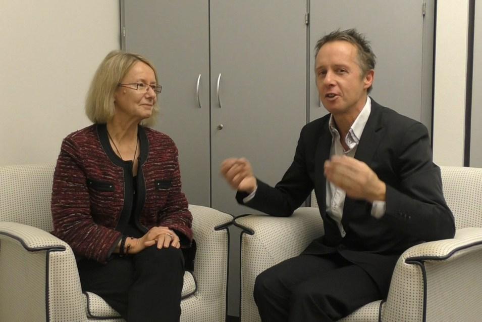 "Evelyne Gebhardt on Powershoots TV ""Positive Energy in Europe"""