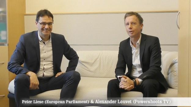 Peter Liese on Powershoots TV - Positive Energy in Europe