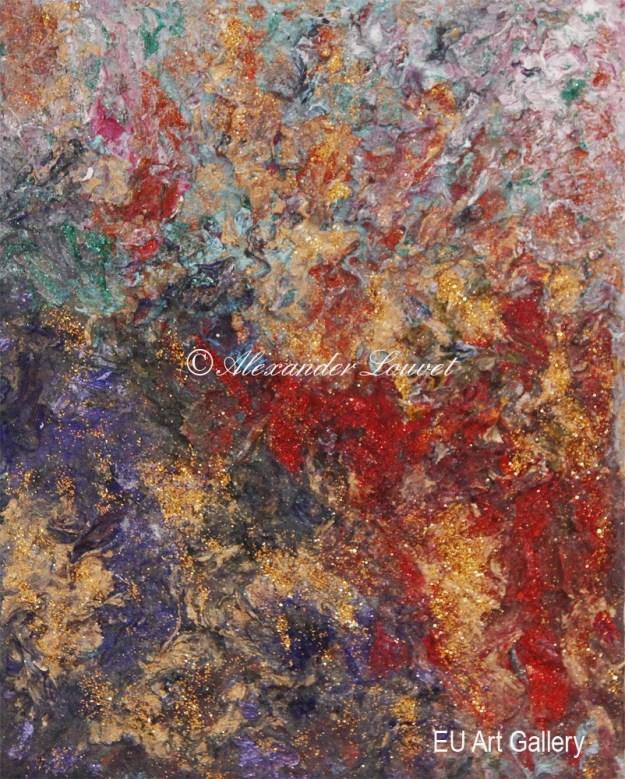 "Painting ""Seen"" - 30X24 - Acrylic-Oil"