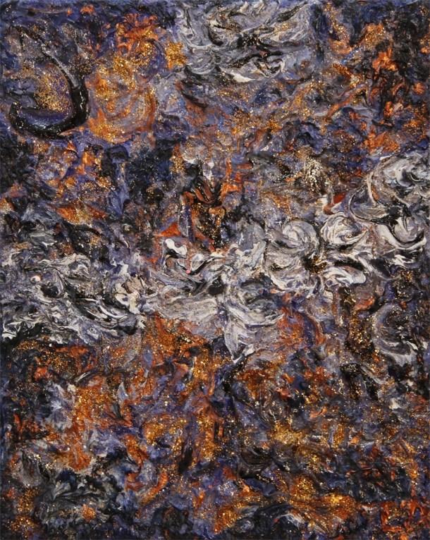 "Painting ""Sheena 2"" - 30X24 - Acrylic-Oil"