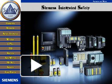 cu240e 2 wiring diagram volvo v70 2007 ppt siemens integrated safety powerpoint presentation free to view id 1ee70e mjlmn