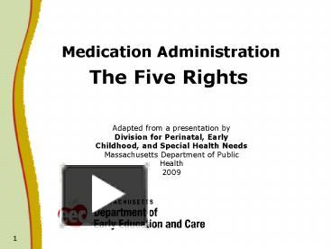 PPT Medication Administration PowerPoint Presentation Free To View Id 86864 ZDc1Z