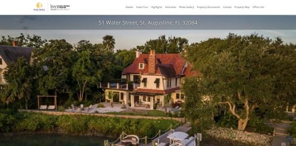 PowerSite Pro Profile: A St. Augustine, Florida Single Property Website