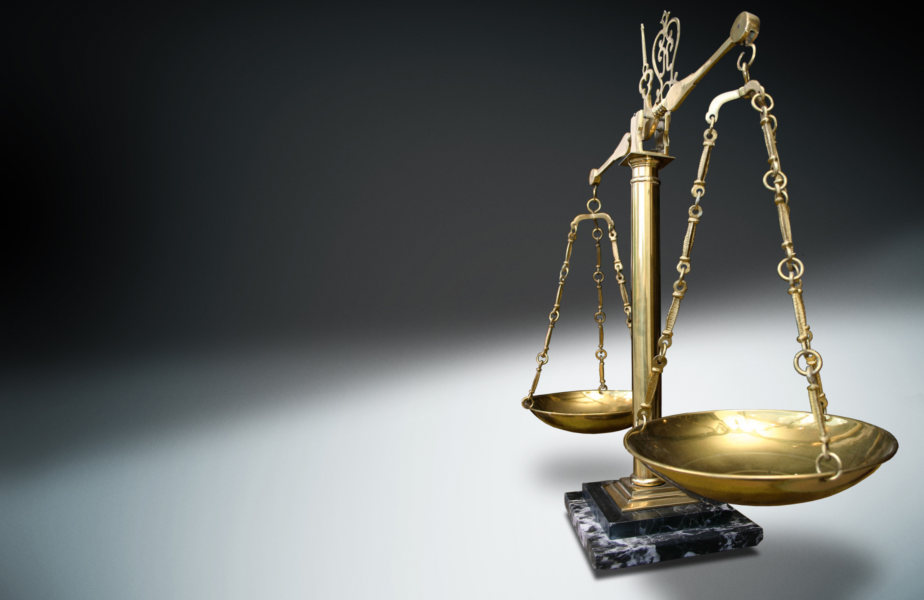 legal scales powers law