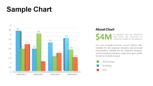 small resolution of bar chart templates powerpoint