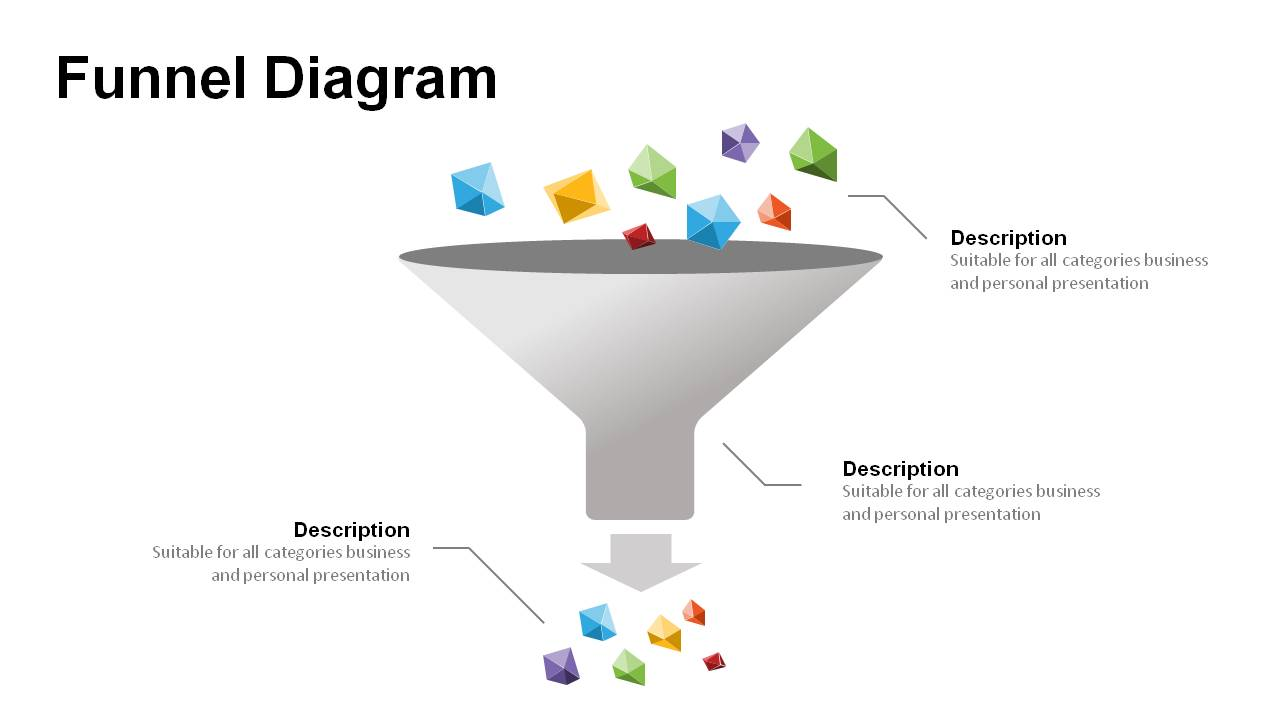 hight resolution of funnel diagram templates for powerpoint