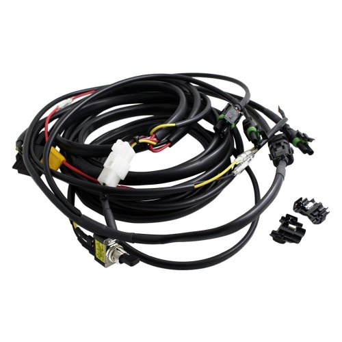 small resolution of baja designs wiring harness powersportsid com led lightbar wire harness w high beam and toggle switch 640118