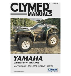 clymer yamaha grizzly 660 2002 2008 manual [ 3000 x 3000 Pixel ]