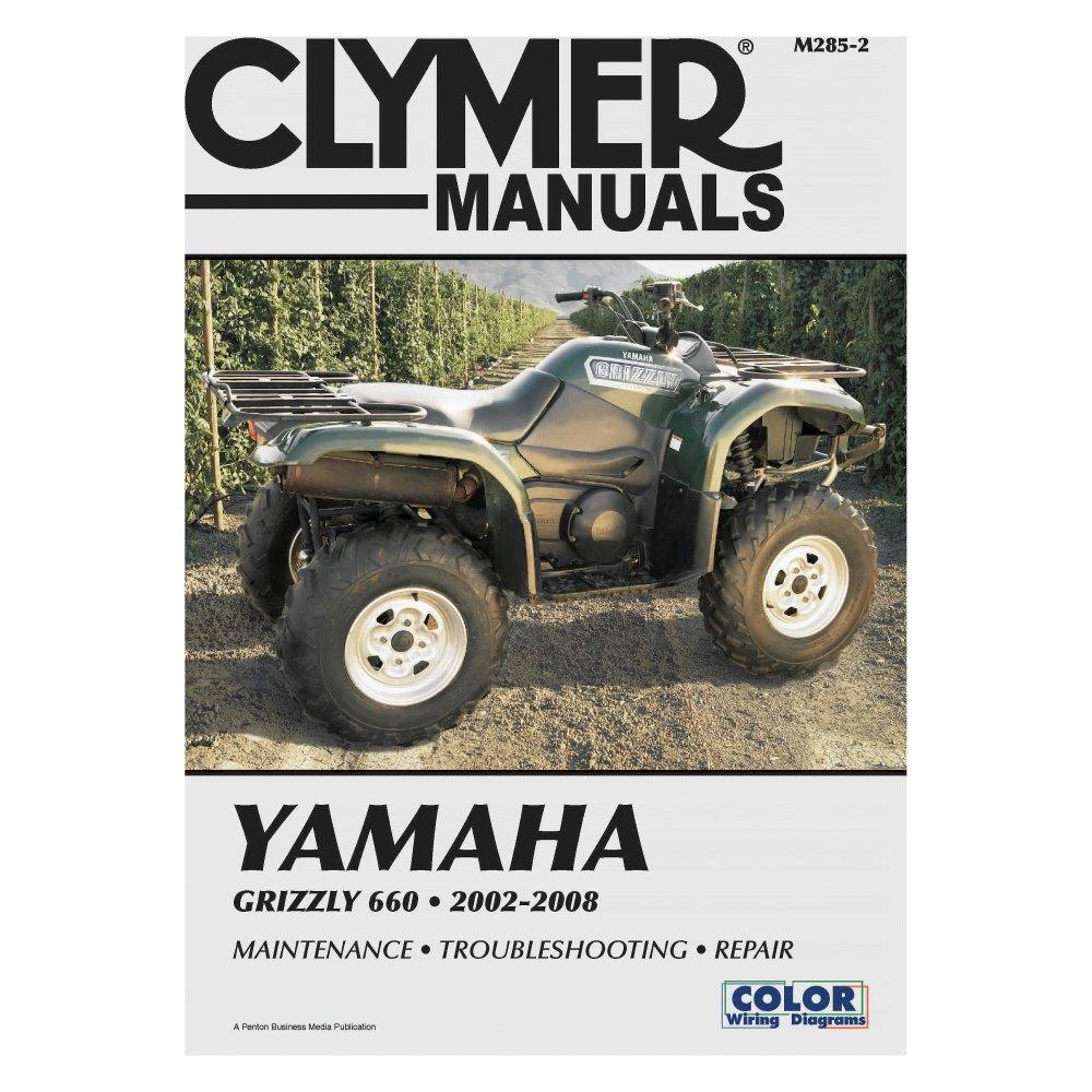 medium resolution of clymer yamaha grizzly 660 2002 2008 manual