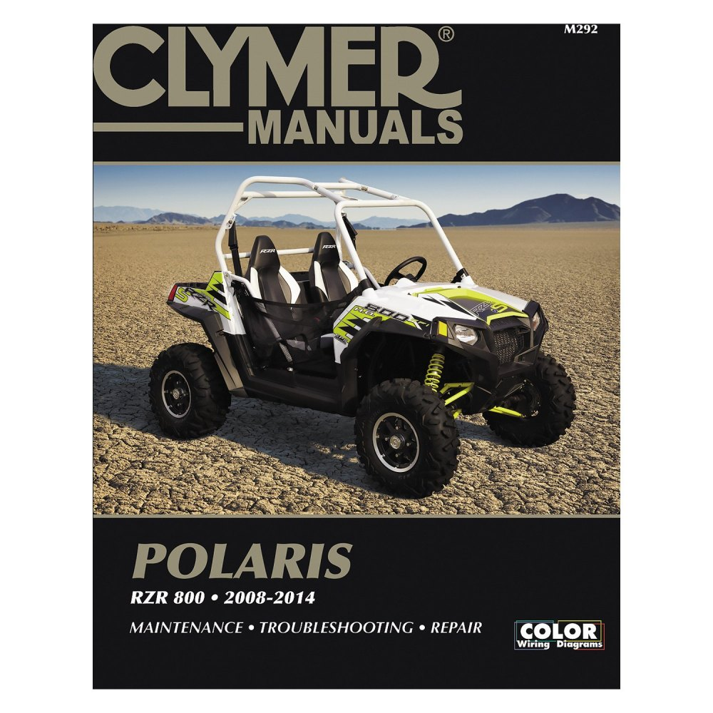 medium resolution of clymer polaris rzr 800 2008 2014 manual