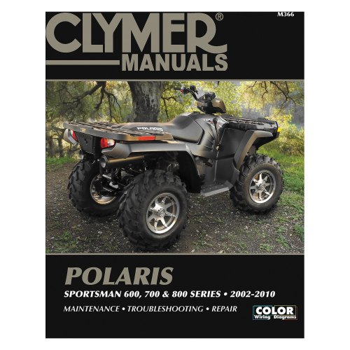 small resolution of clymer polaris sportsman 600 700 and 800 series 2002 2010 manual