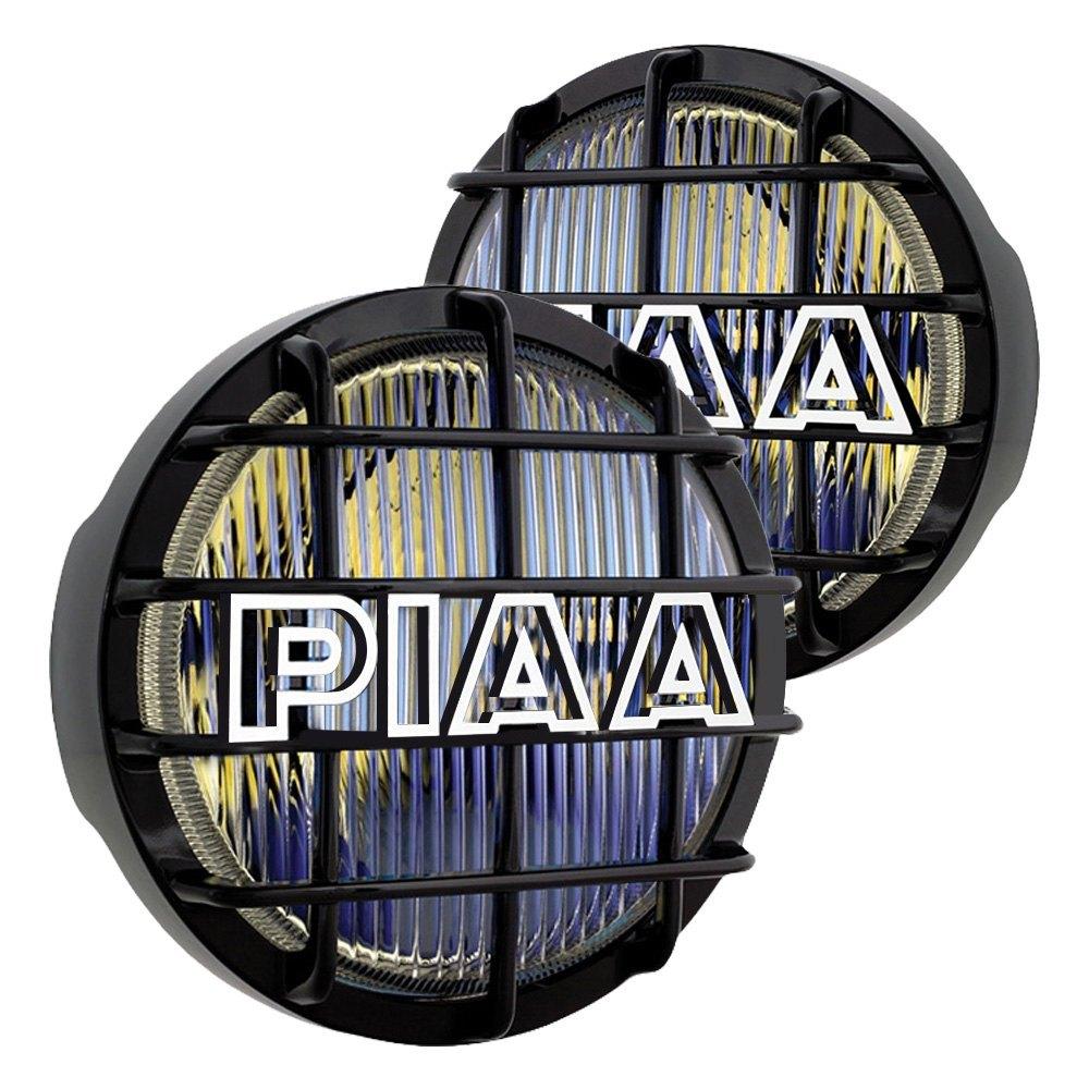 medium resolution of piaa 520 series 6 2x55w round fog beam yellow lights