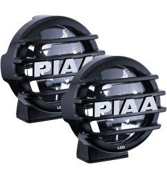 piaa lp 550 sae 5 2x14w round driving beam led lights [ 1500 x 1500 Pixel ]