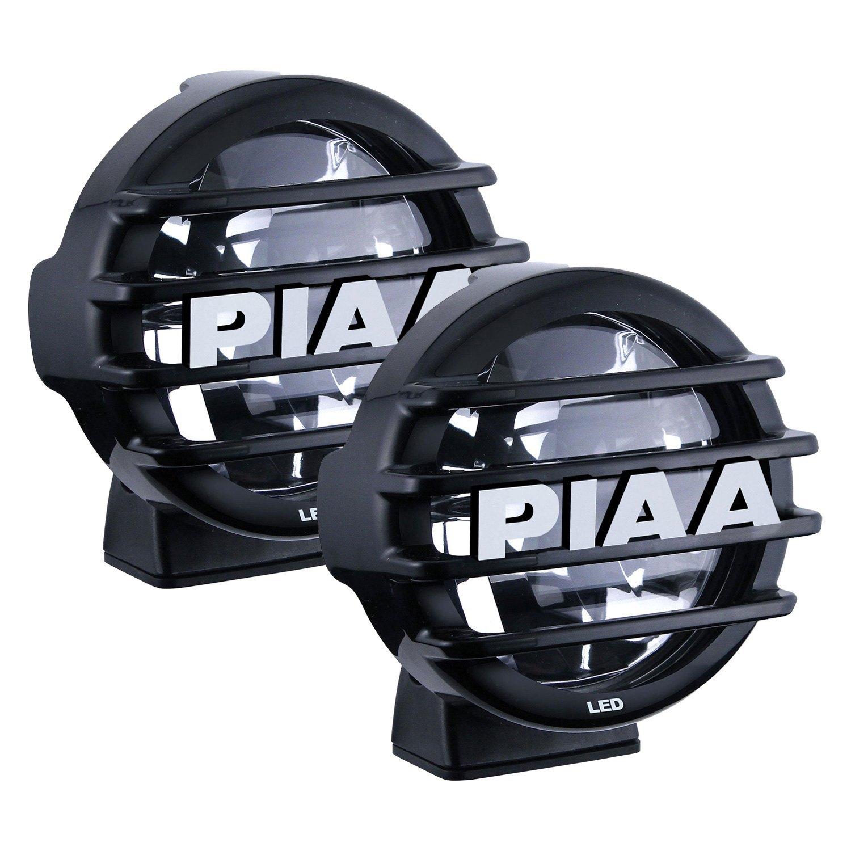 hight resolution of piaa lp 550 sae 5 2x14w round driving beam led lights