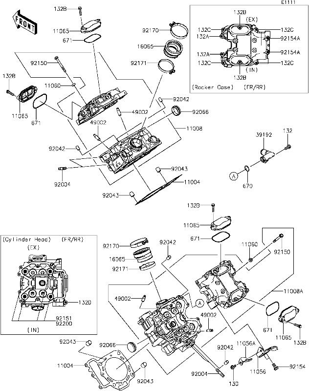 1600 cc vw engine parts diagram
