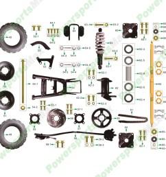atv 3125r rear wheel assembly [ 1000 x 1000 Pixel ]