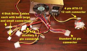 320 watt 24V DC Input PC ATX Power Supplies, 24 volt Input
