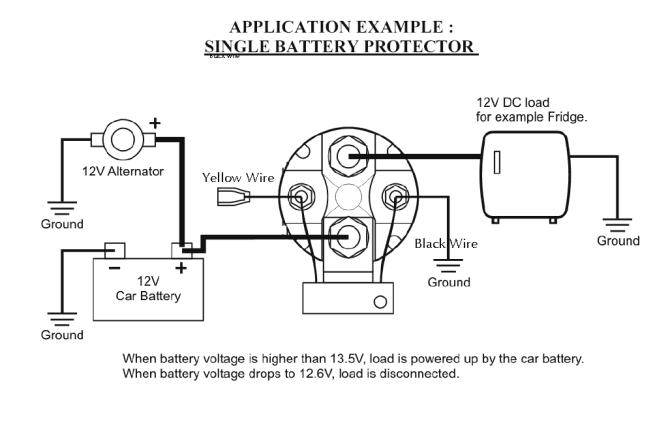 wiring diagram for a battery isolator  1994 dodge dakota