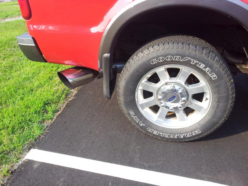 flo pro exhaust tip ford