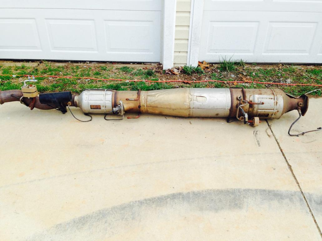2012 f350 stock exhaust system for sale
