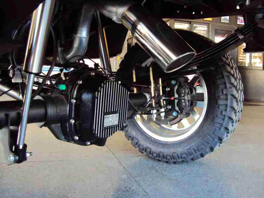 turned down exhaust ford powerstroke