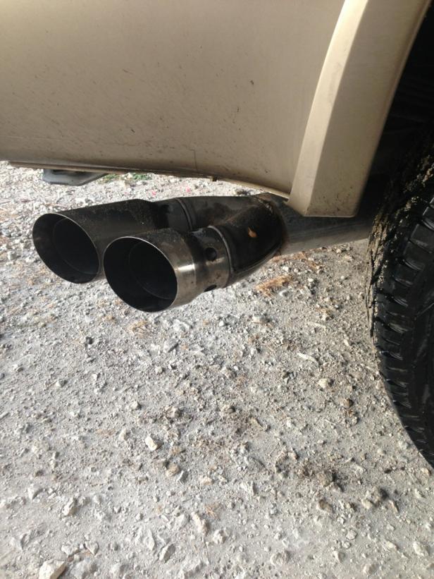 exhaust tip ford powerstroke diesel