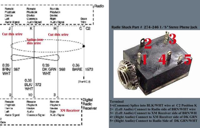 f250 radio wiring diagram gibson les paul special in aux to a 3.5mm headphone jack - ford powerstroke diesel forum