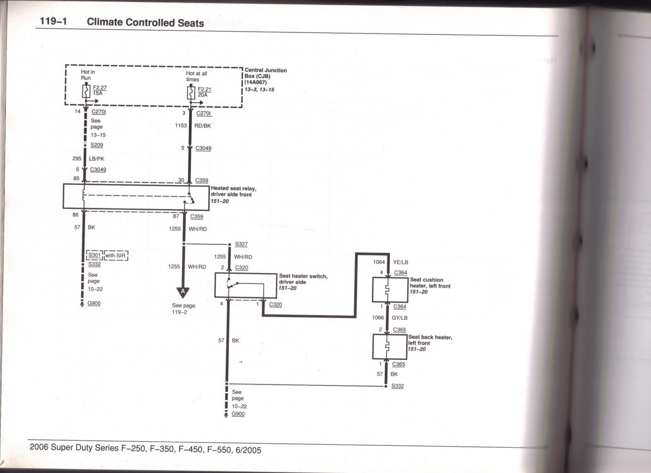 hight resolution of heated seat wire diagram page 2 ford powerstroke diesel forum