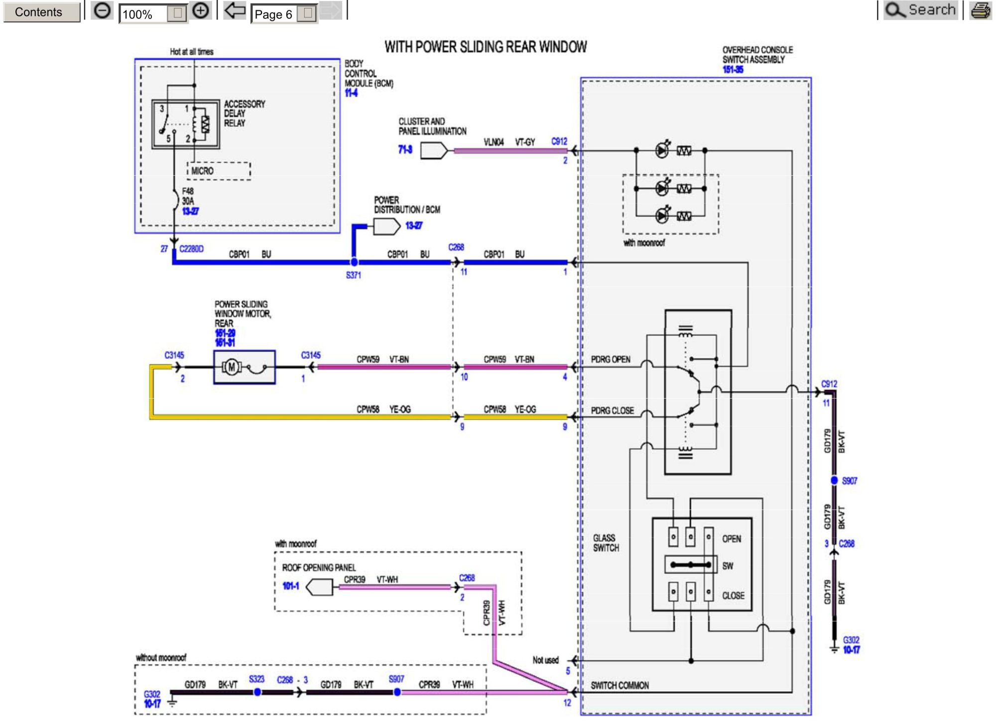 hight resolution of  ford f150 of nissan altima wiring diagrams click image for larger version name power rear window circuitry jpg views 1103