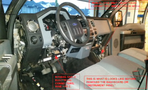 Blower Control Module (Blower Resistor) Replacement DIY  2013 F350 XLT XTR  Ford Powerstroke