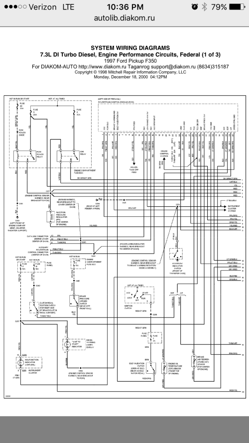 small resolution of  pcm ipr control problem ford powerstroke sel forum on 2002 ford diesel fuse diagram