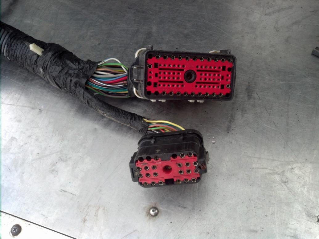 hight resolution of 1994 psd to 1996 psd cab wiring harness swap questions img 20141214 111058 jpg