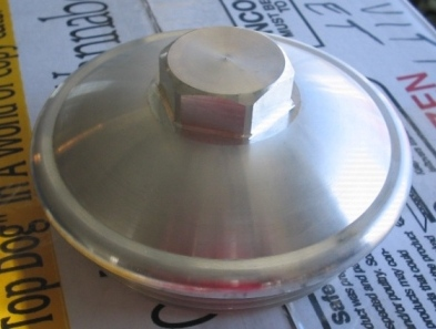 Billet Alum Fuel Filter Cap For Banshee
