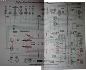 Need PCM Pinsconnector #s diagram  Ford Powerstroke