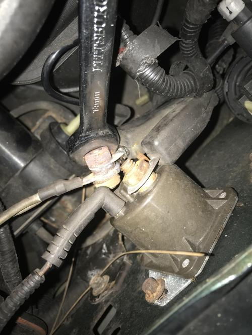 small resolution of ford diesel starter wiring