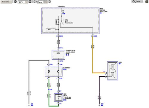 small resolution of 2015 superduty factory horn wiring schematic ford powerstroke f250 fuse panel diagram click image for larger