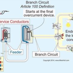 110v Outlet Wiring Diagram Visio Electrical Nec Article 210: Five Common Applications And Requirements | Powerstudies.com