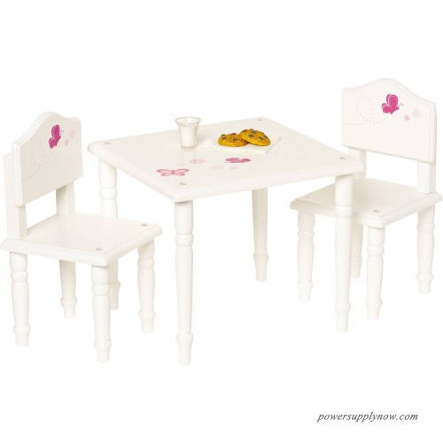 18 doll table and chairs valletta swing chair with stand my life as furniture 555784553