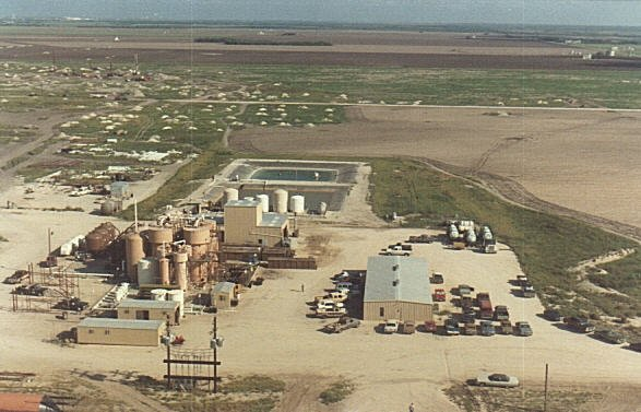 Kingsville Dome ISL uranium mine and processing plant - Kleberg County, Texas