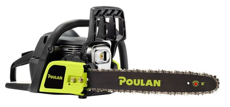 poulan chainsaw trouble shooting