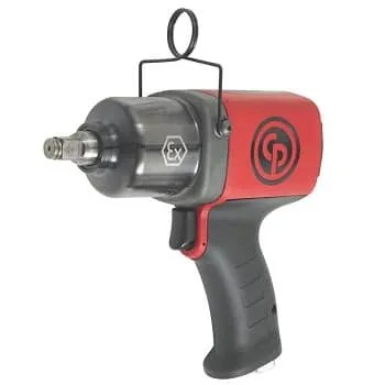 a pneumatic impact wrench